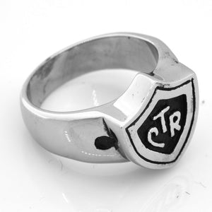 Shield CTR Ring - stainless steel