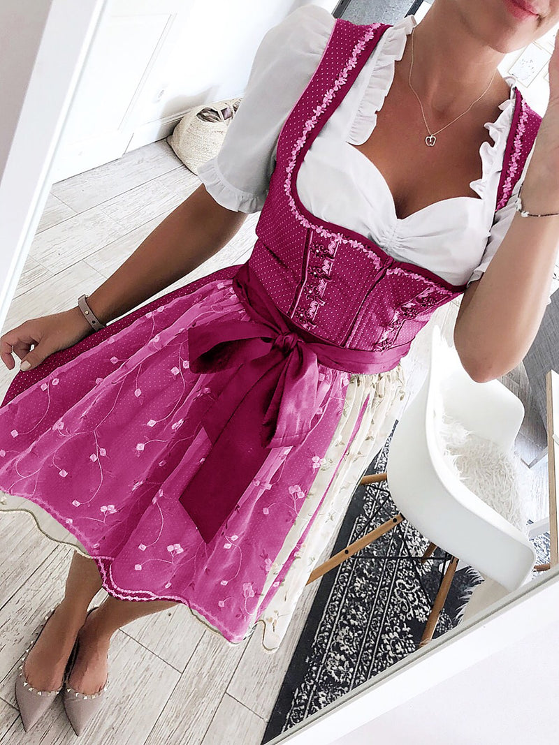Women's Beer Babe Oktoberfest Costumes Party Dresses