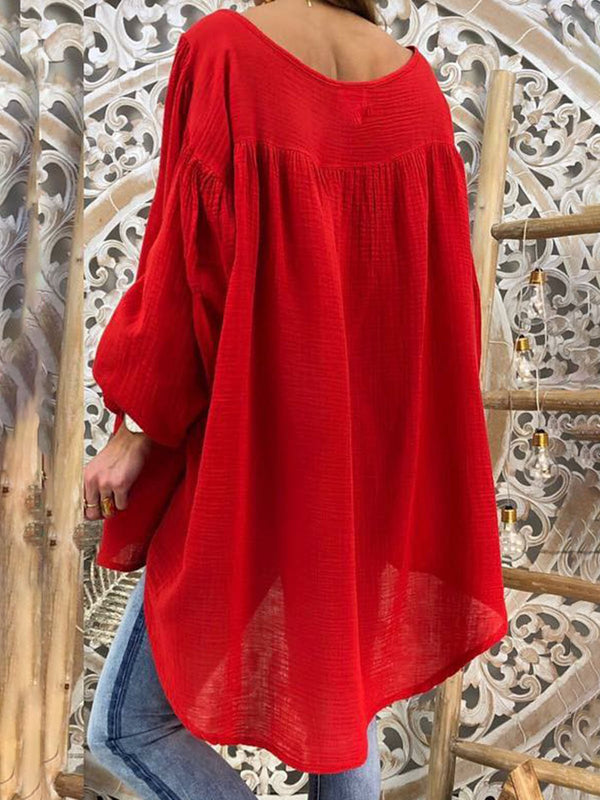 V Neck Women Dresses Shift Daily Boho Paneled Dresses