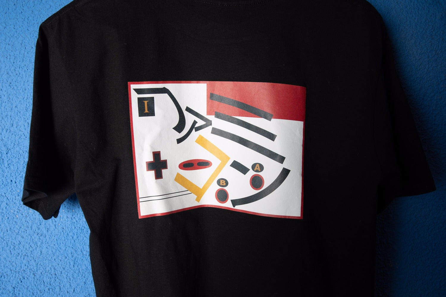 famicom,anni80,t-shirt, console, giapponese,a,b, japanese, style, sportivo,street, style, made in italy,katakana,tvgame
