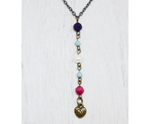 HEARTS LOVE Y-NECKLACE