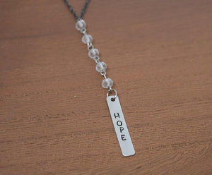 HOPE Y-NECKLACE