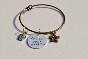 FOLLOW YOUR PASSION BRACELET