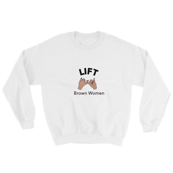 Lift Brown Women Sweatshirt