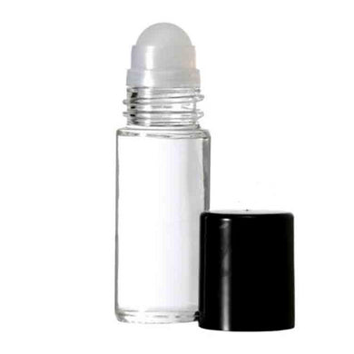 Clear Glass Roll On Bottles - 30 ML