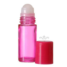 Load image into Gallery viewer, Pink Glass Roll On Bottles - 30 ML