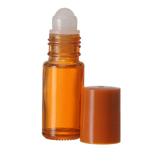 Orange Roll On Bottles - 5 ML