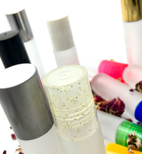 Load image into Gallery viewer, Frosted Glass Roll On Bottles - 10 ML - PPE/Plastic/Resin Rollerball Insert