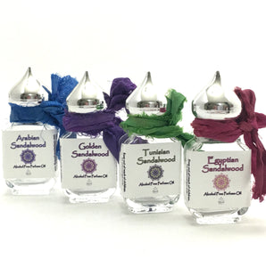 Sandalwood Sampler Gift Bottles