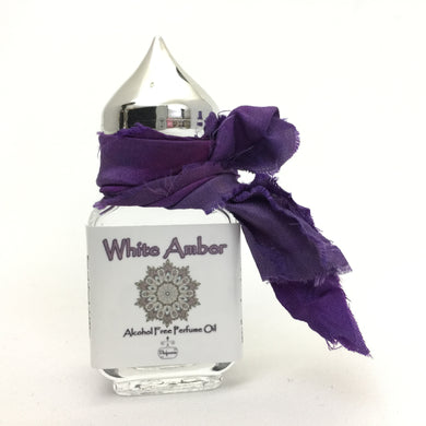 Authentic White Amber  Perfume Oil 100% Alcohol Free