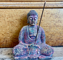 Load image into Gallery viewer, Volcanic Buddha Incense Holder