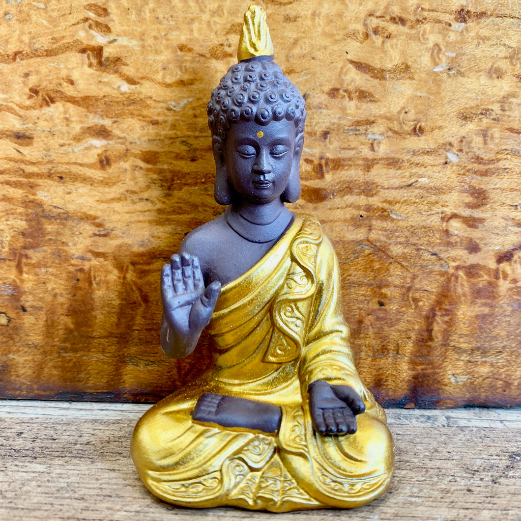 Gold Mini Buddha Statue