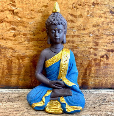Blue Mini Buddha Statue
