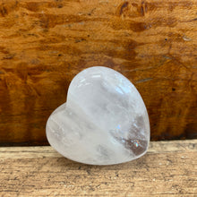 Load image into Gallery viewer, Clear Quartz Crystal Heart