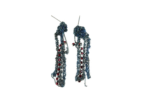 Crystal Drip Earrings