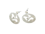 AdP Charm Earrings in Silver