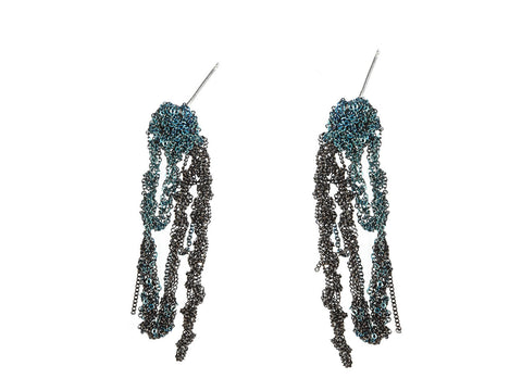 2-Tone Drip Earrings - AW13