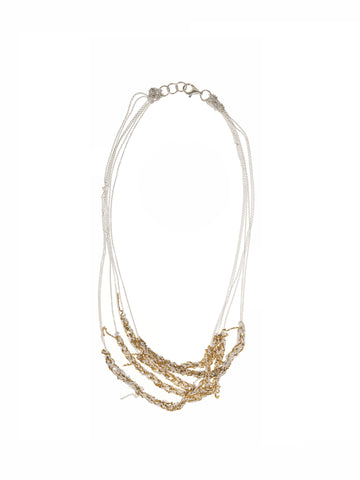 5-Tiered Clasped Bare Chain - AW13