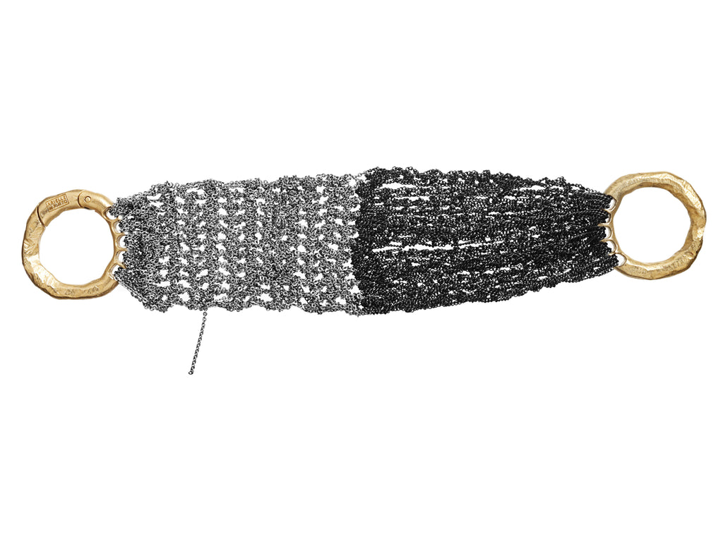 The Buxom Bracelet in Ash + Charcoal