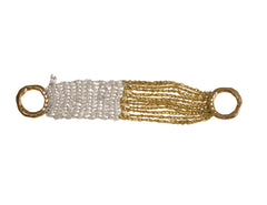 - The Buxom Bracelet - Silver + Gold -