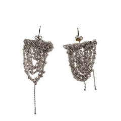 - Prestige Earrings - Faded silver -