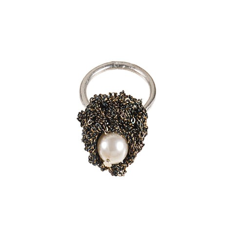 Pearl Nuggy Ring - SS15