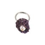 Pearl Nuggy Ring in Iris