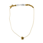 Single Sweet Bead Necklace in Gold