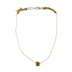- Single Sweet Bead Necklace - Gold -