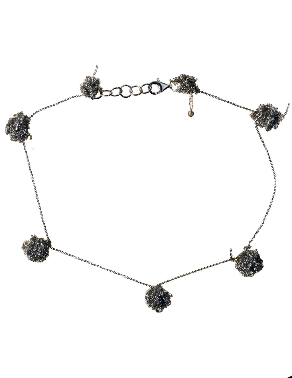 Sweet Bead Choker in Ash