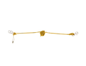 Single Sweet Bead Bracelet in Gold