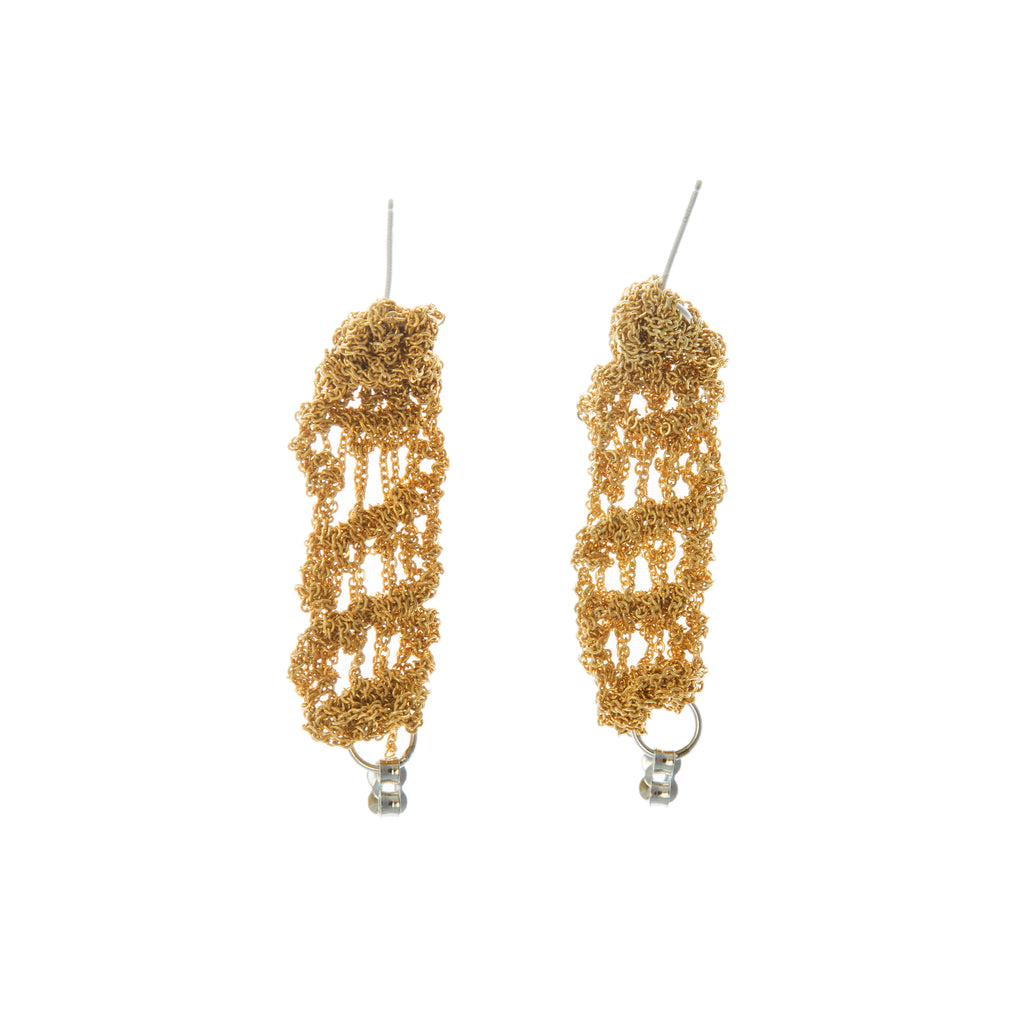 Cuff Earrings in Gold