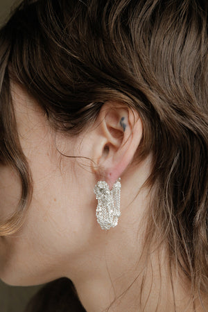 Cuff Earrings in Haze