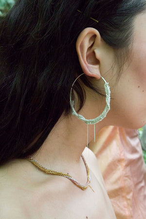 Circlet Hoops in Rose Gold