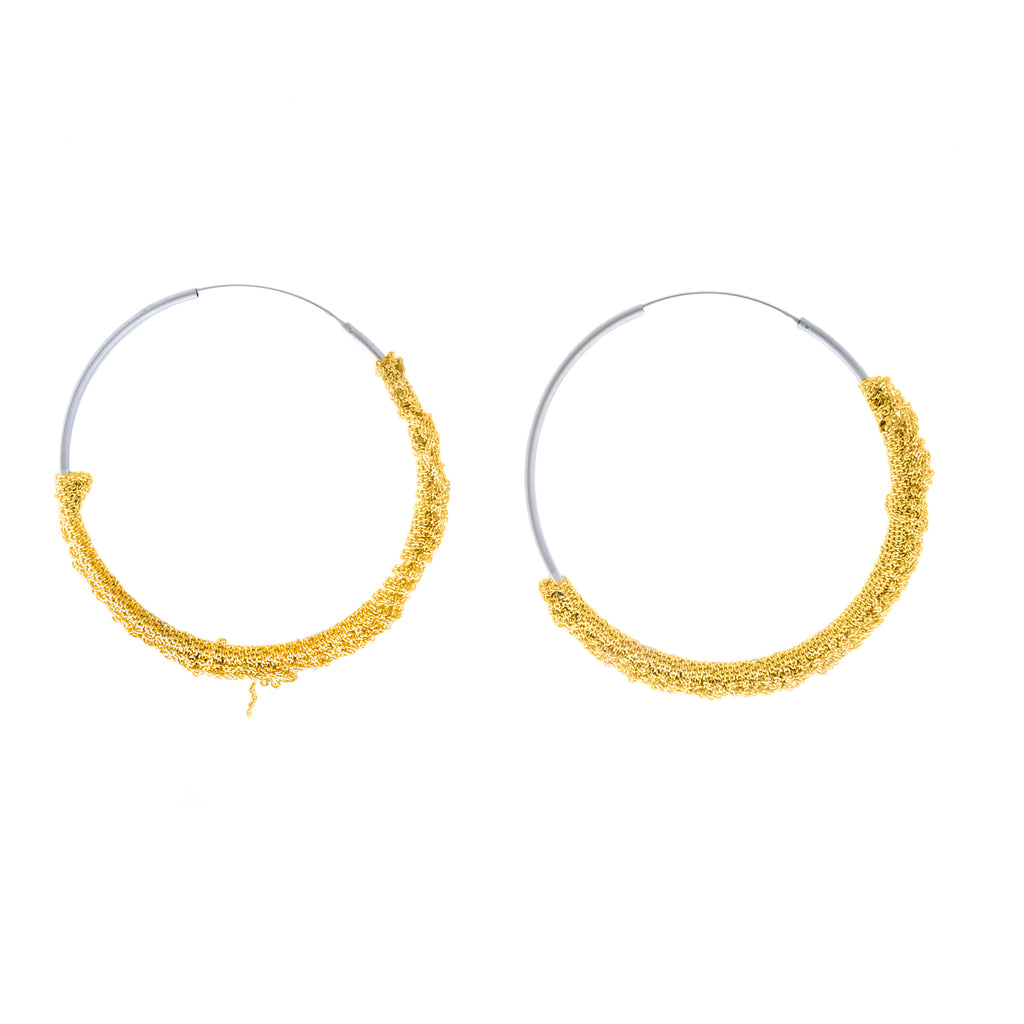 Circlet Hoops in Gold