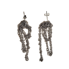 - Drip Earrings - Ash -