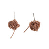 - Bead Earrings - Rose Gold -