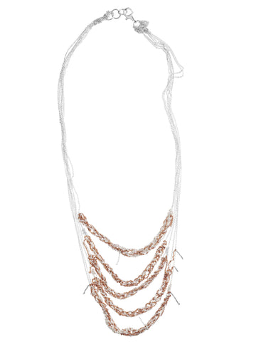 5-Tiered Clasped Bare Chain - AW14