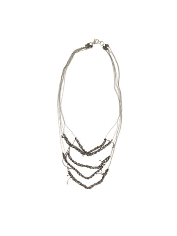 5-Tiered Clasped Bare Chain - SS14