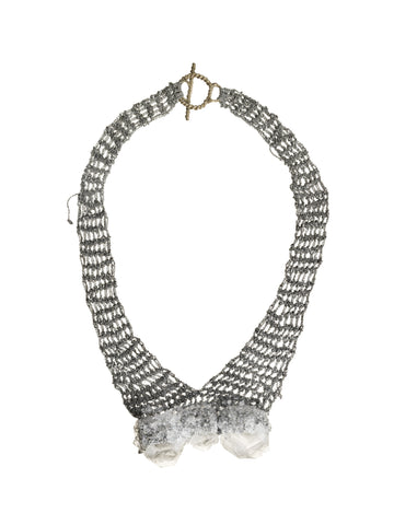 3 Stone Bib Necklace