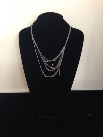 | 5-Tiered Clasped Bare Chain - Ash + Radiance |