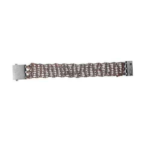 MAN: Band Bracelet w/ Square Clasp