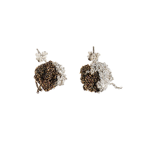 2-Tone Bead Earrings - SS15