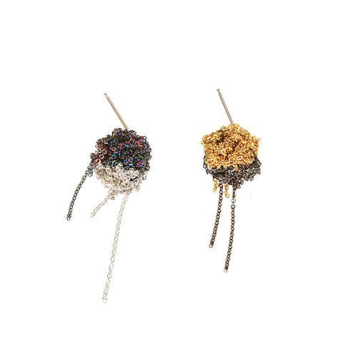 4-Toned Bead Earring - SS14