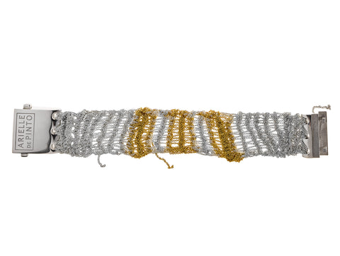 Tunisian Row Bracelet