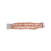Rail Ribbon Bracelet w/ Square Clasp