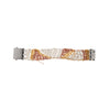 Tiger Stripe Band Bracelet w/ Square Clasp