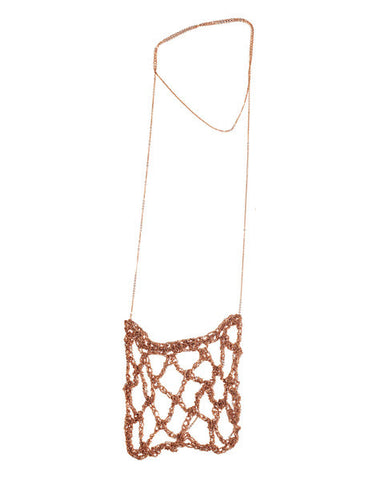 - Netted Drop - Rose gold -