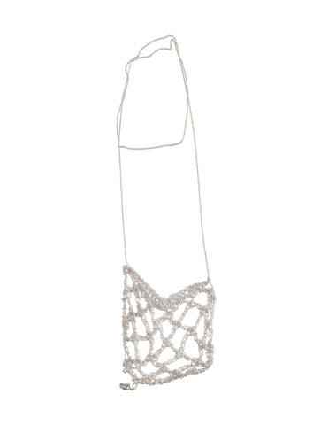 - Netted Drop - Silver -
