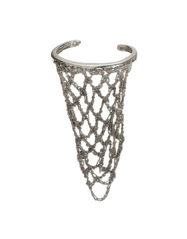 Slide-On Netted Bracelet